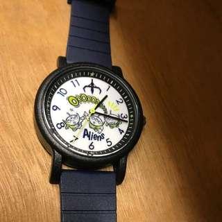 DISNEY PIXAR 3眼仔 膠手錶 日本購買
