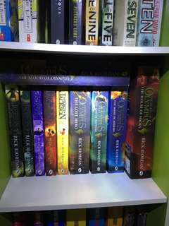 Percy Jackson and Heroes Of Olympus Series