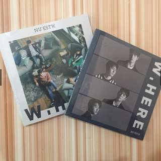 ON HAND (SEALED) NU'EST WHERE WITH PC