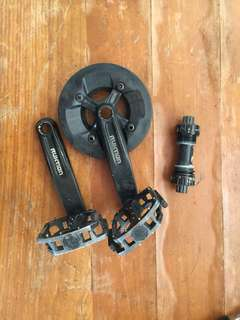 for sale: truvativ rukion crankset with bb