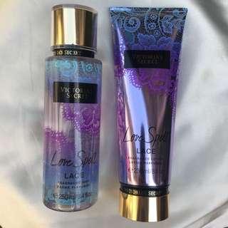 VS Fragrance Lotion + Mist (Authentic)