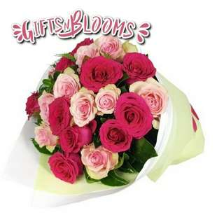Beautiful Fresh Flower Surprise for Special One Bouquet V19 - IWPRL
