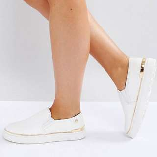 River Island Slip On Sneakers