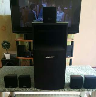 Bose Acoustimass 6-III Cube Speakers