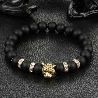 Leopard Head Summer Bracelet