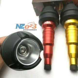 Nmax xmax exhaust slider