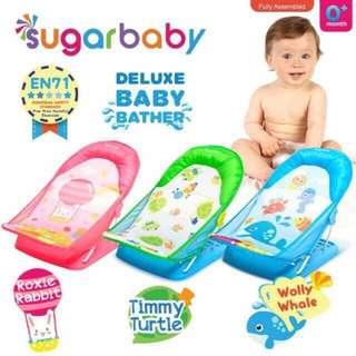 Sugar Baby Bather / Sugarbaby Bather / Alat Bantu Mandi Bayi / Tempat Duduk Mandi Bayi