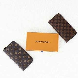 LV Clemence Zippy Wallet