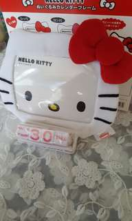Hello Kitty Photo Frame Calendar