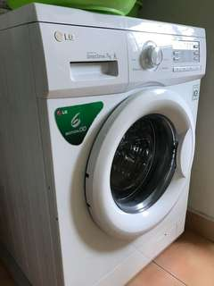 New washing machine (front load)