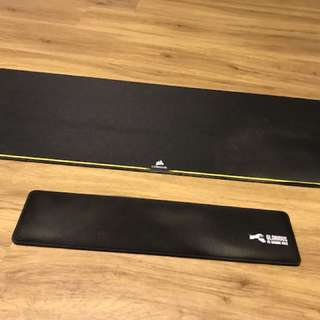 WTS mousepad and wrist rest