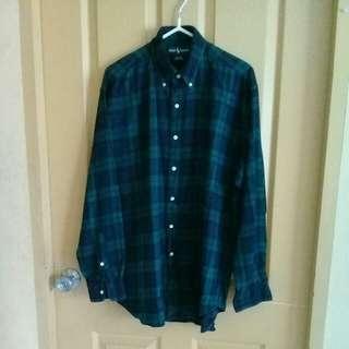 Ralph Lauren plaid l/s shirt