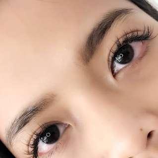 Classic Eyelash Extensions D curl