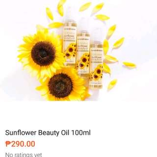 Human Nature Sunflower oil 100ml