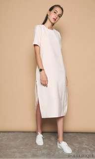 Hollyhoque Emma Slit Midi Dress M size