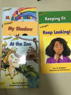 Preloved preschool English readers