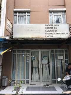 Dijual Ruko bekas Klinik