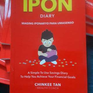My Ipon Diary by Sir. Chinkee Tan