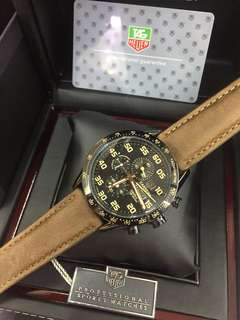 Tag Heuer Watch Leather Strap