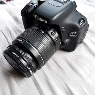 Canon 600d like new (+bonus)