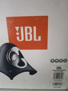 JBL self powered satellite speakers and subwoofer