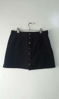 Black Maong Skirt