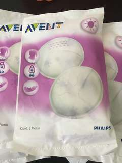 7 Avent Disposable Breast Pads and 10 nipple cream