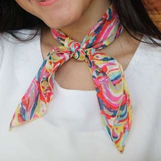 [NEW] Colorful Abstract Neck scarf / Bandana