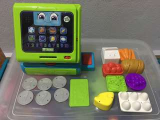 Leapfrog cash register