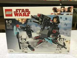 Lego 75197 First Order Specialist Battle Pack