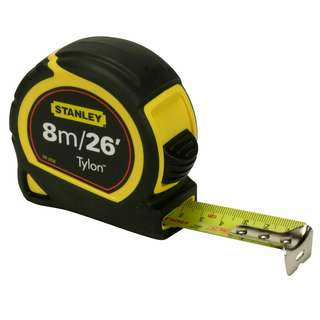Stabley 8Mtr Tylon Measuring Tape