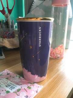 Starbucks 2018櫻花杯 (夜櫻瓷杯)starbucks 2018 sakura mug