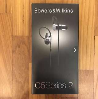 New Bowers & Wilkins C5 Series 2 Earphones