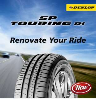 NEW LAUNCH! Dunlop Touring R1 Tyres