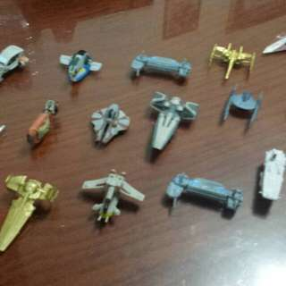Micro Machines Star Wars Ships