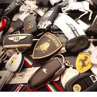 Transponder keys and Remotes...
