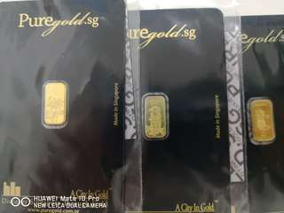 1g 999 Pure Gold