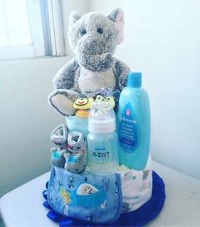MADE TO ORDER - DIAPER CAKE