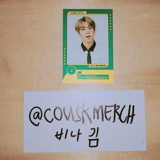bts 3rd muster seokjin player card