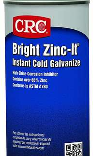 CRC Bright Zinc-It® Instant Cold Galvanized Spray (13oz)