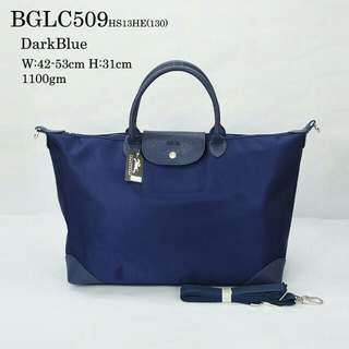 LONGCHAMP TRAVEL BAG (DARK BLUE)