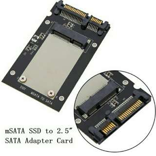 Msata to sata adapter