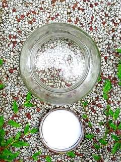 RETRO /CLASSIC HORLICKS GLASS JAR