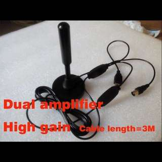 DVB-T2 indoor antenna for digital TV