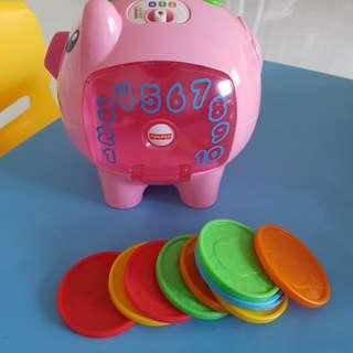 Preloved Fisher Price Piggy