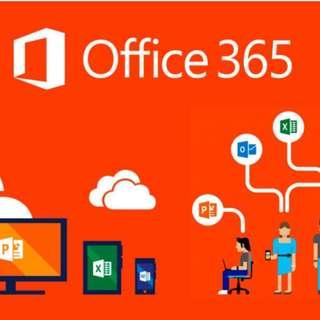 Office 365 家用版 - 一年訂閱權 ( 一人用)