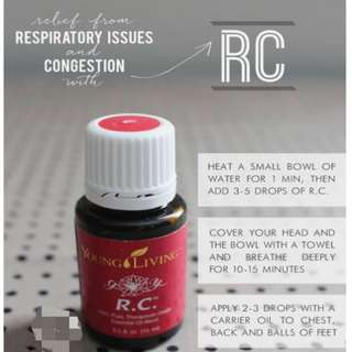 R.C Young Living essential oil