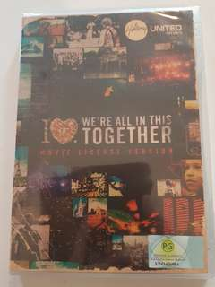 DVD : Hillsong United : We Are All In This Together (Movie License Version)