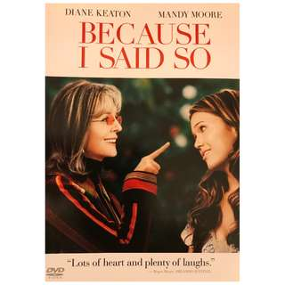 DVD - BECAUSE I SAID DO