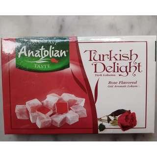 玫瑰花味軟糖